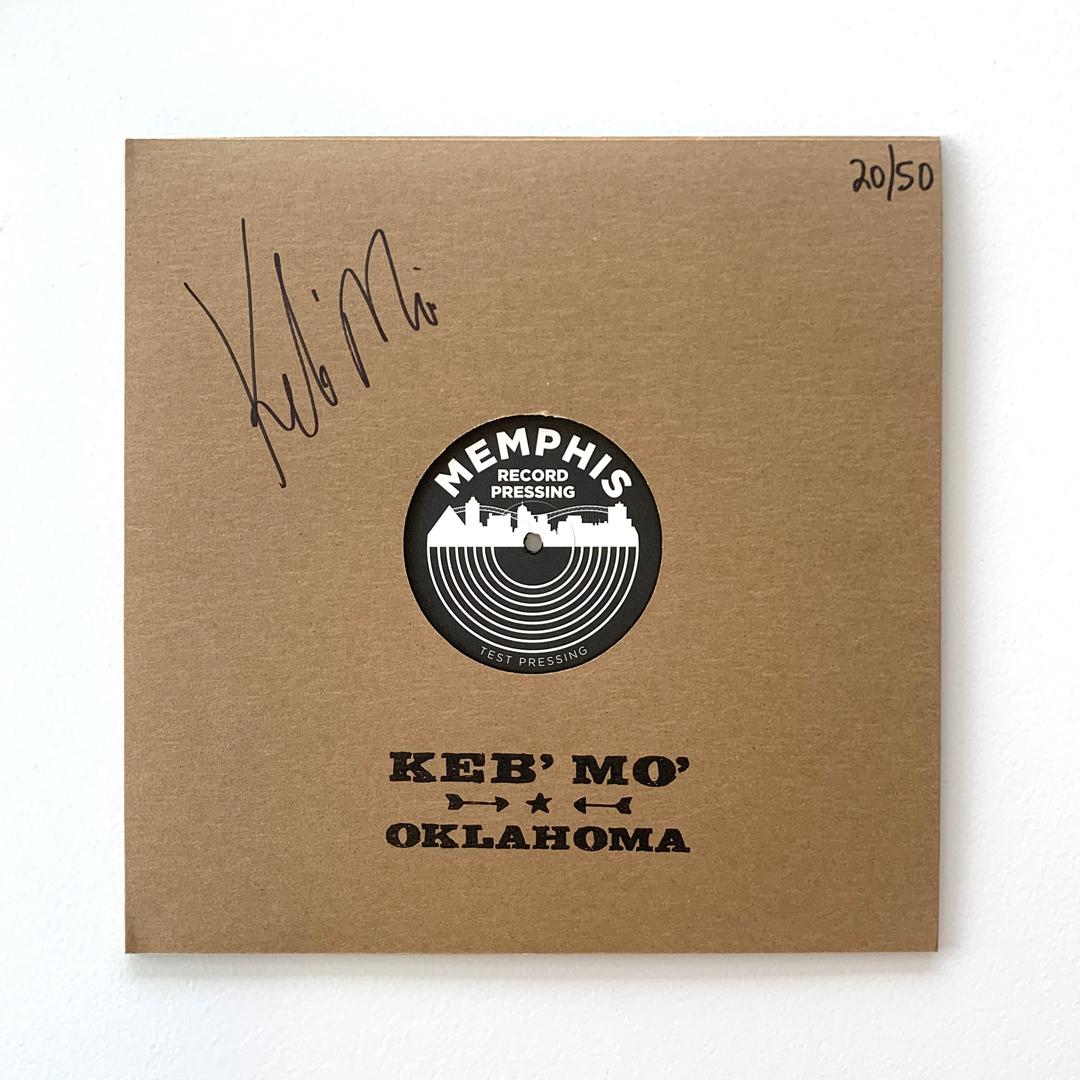 Signed Vinyl Test Pressing + Tiger Eye Marble Vinyl LP + Vinyl Coasters + Turntable Mat Bundle (50 available)
