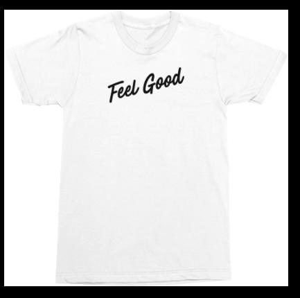 Feel Good White Tee