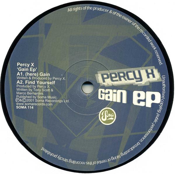 Percy X – Gain Ep (Soma)