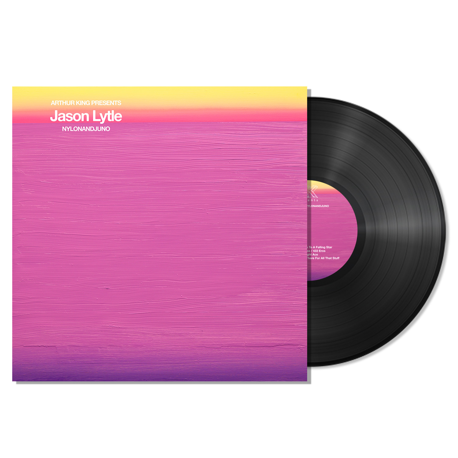 Arthur King Presents Jason Lytle: NYLONANDJUNO - Black LP
