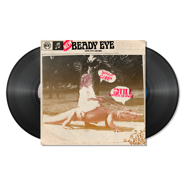 Beady Eye - Different Gear, Still Speeding - 2 x Black LP