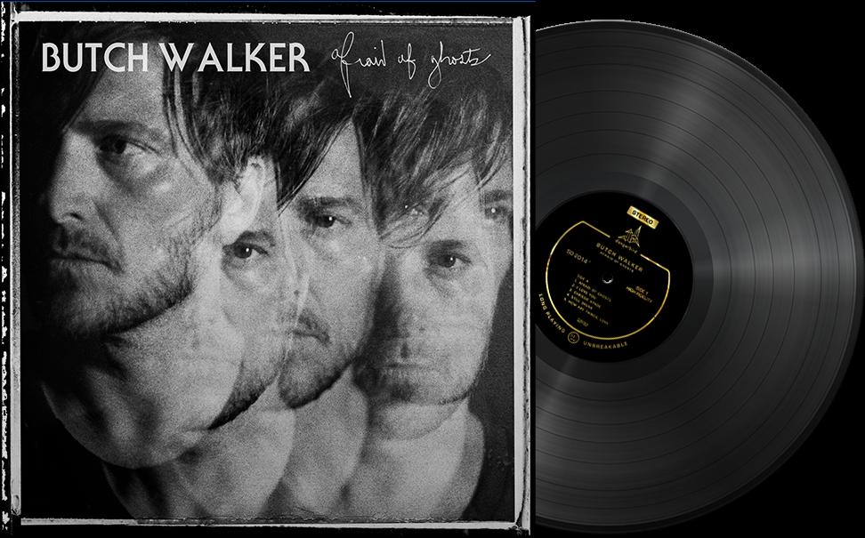 Butch Walker - Afraid of Ghosts - Black Vinyl LP