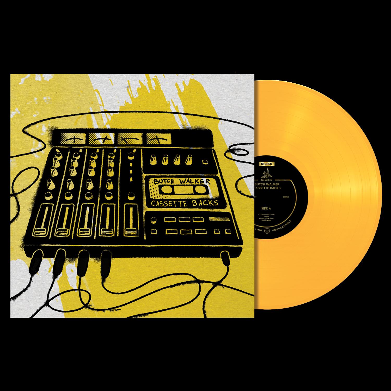 Butch Walker - Cassette Backs - Yellow Vinyl LP