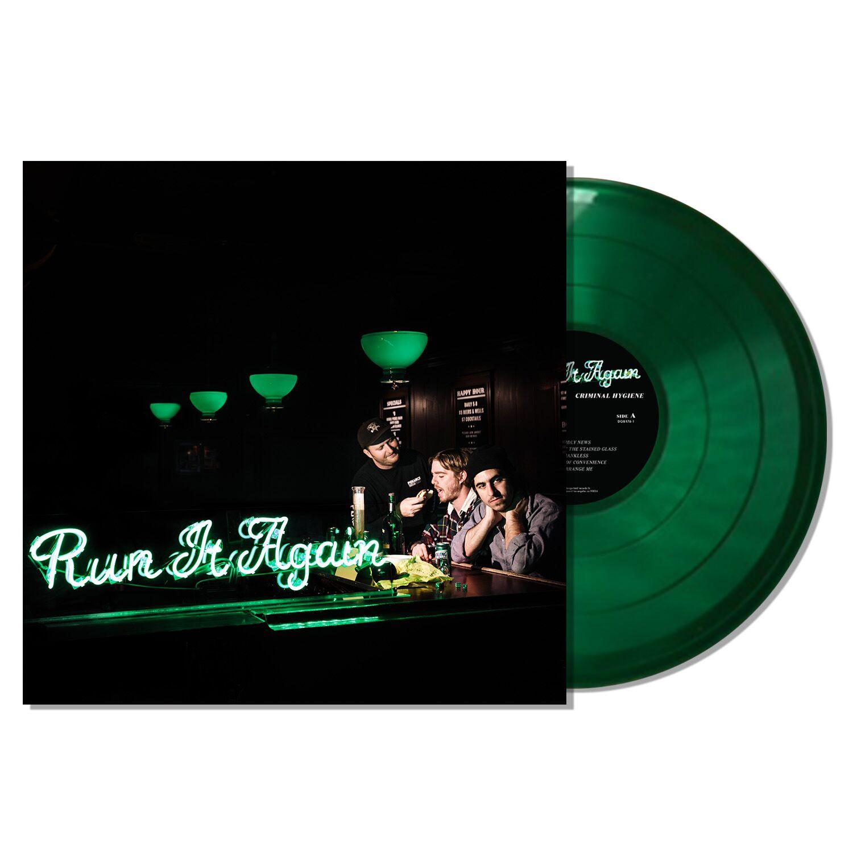 Criminal Hygiene - Run It Again Rolling Rock - Green Vinyl LP