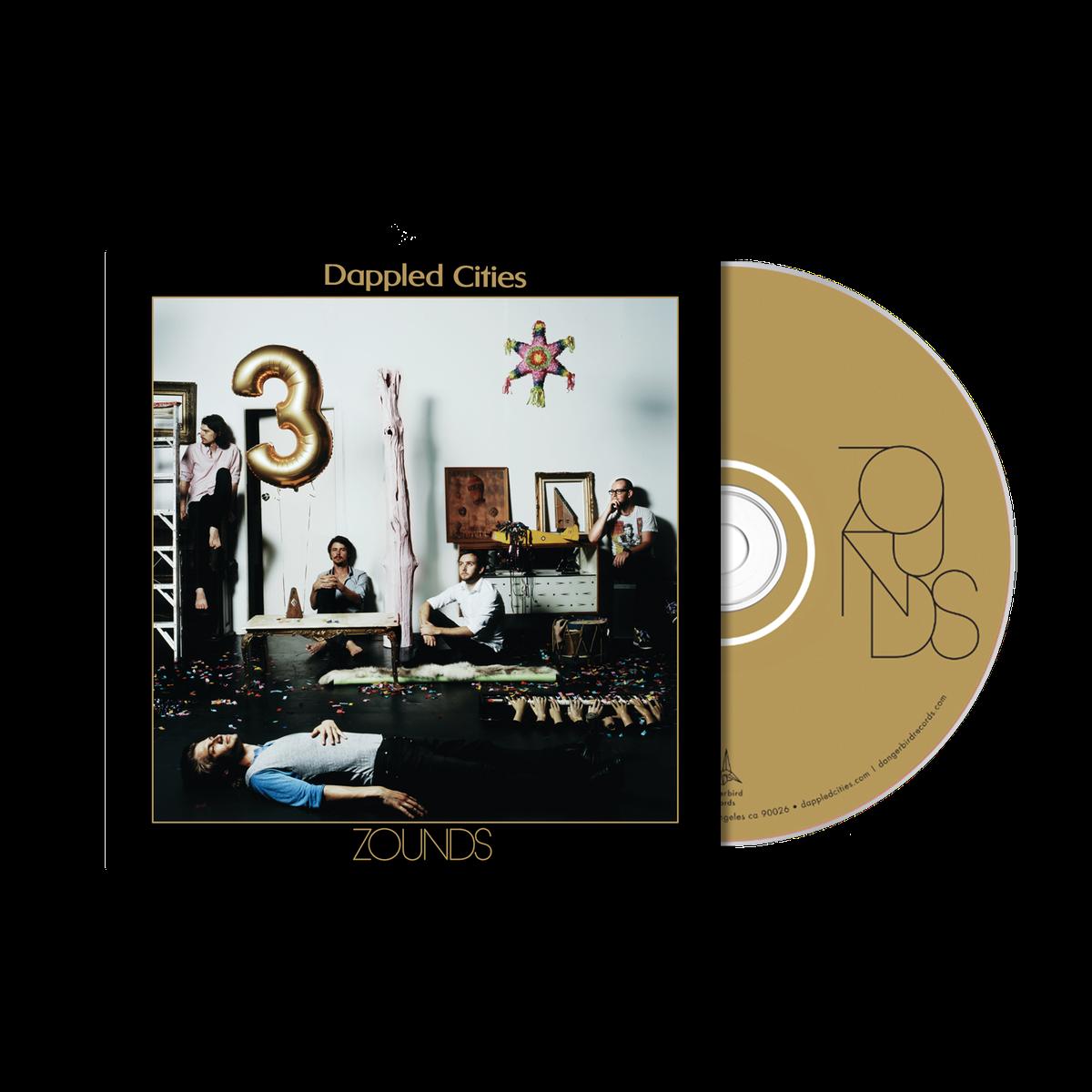 Dappled Cities - Zounds - CD