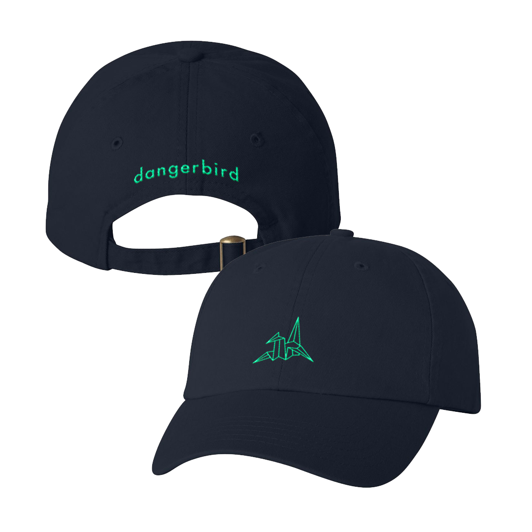 Dangerbird Records - Logo Navy - Dad Hat