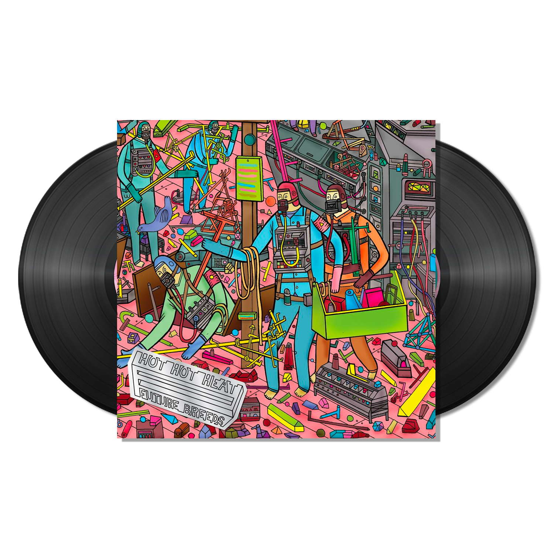 Hot Hot Heat - Future Breeds - 2 x Black LP