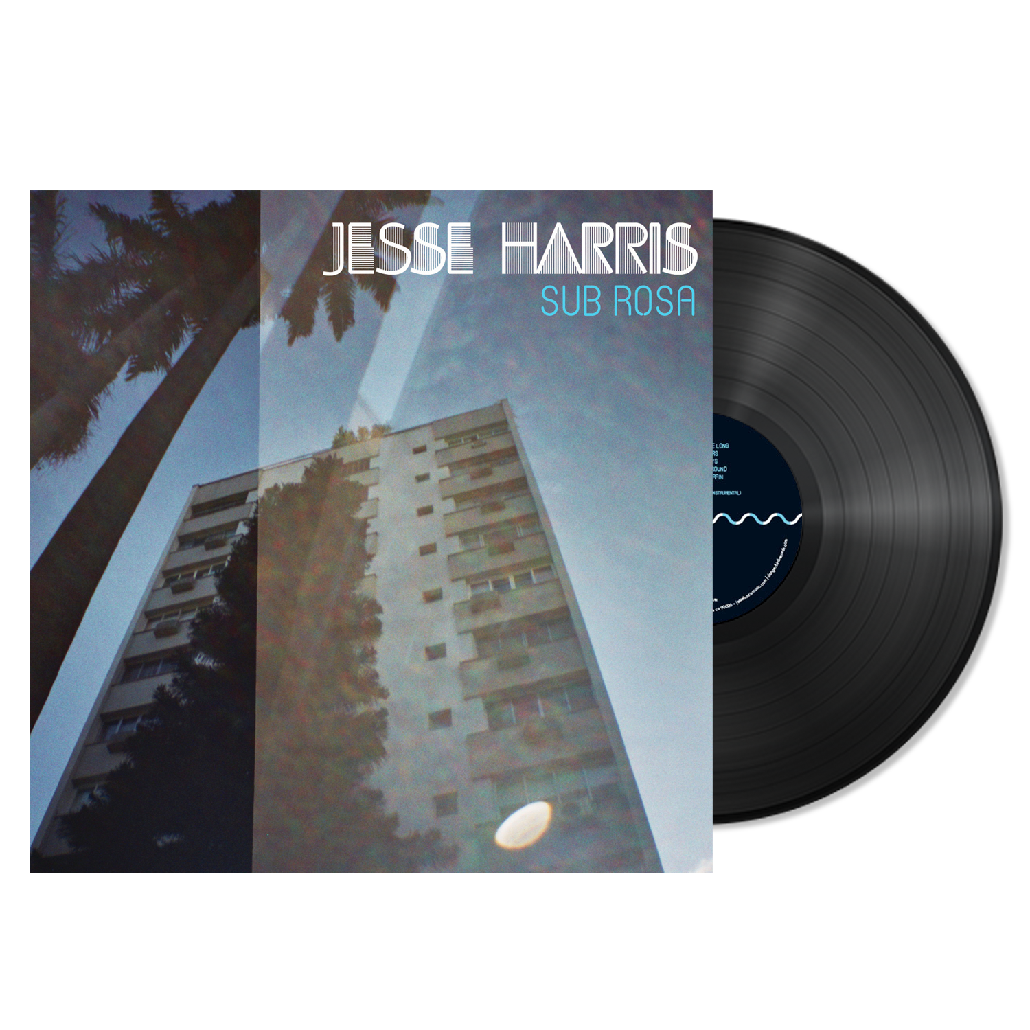 Jesse Harris - Sub Rosa - Black LP