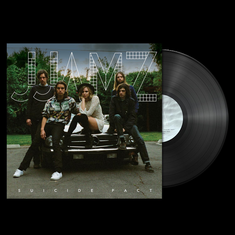 JJAMZ - Suicide Pact - Black LP