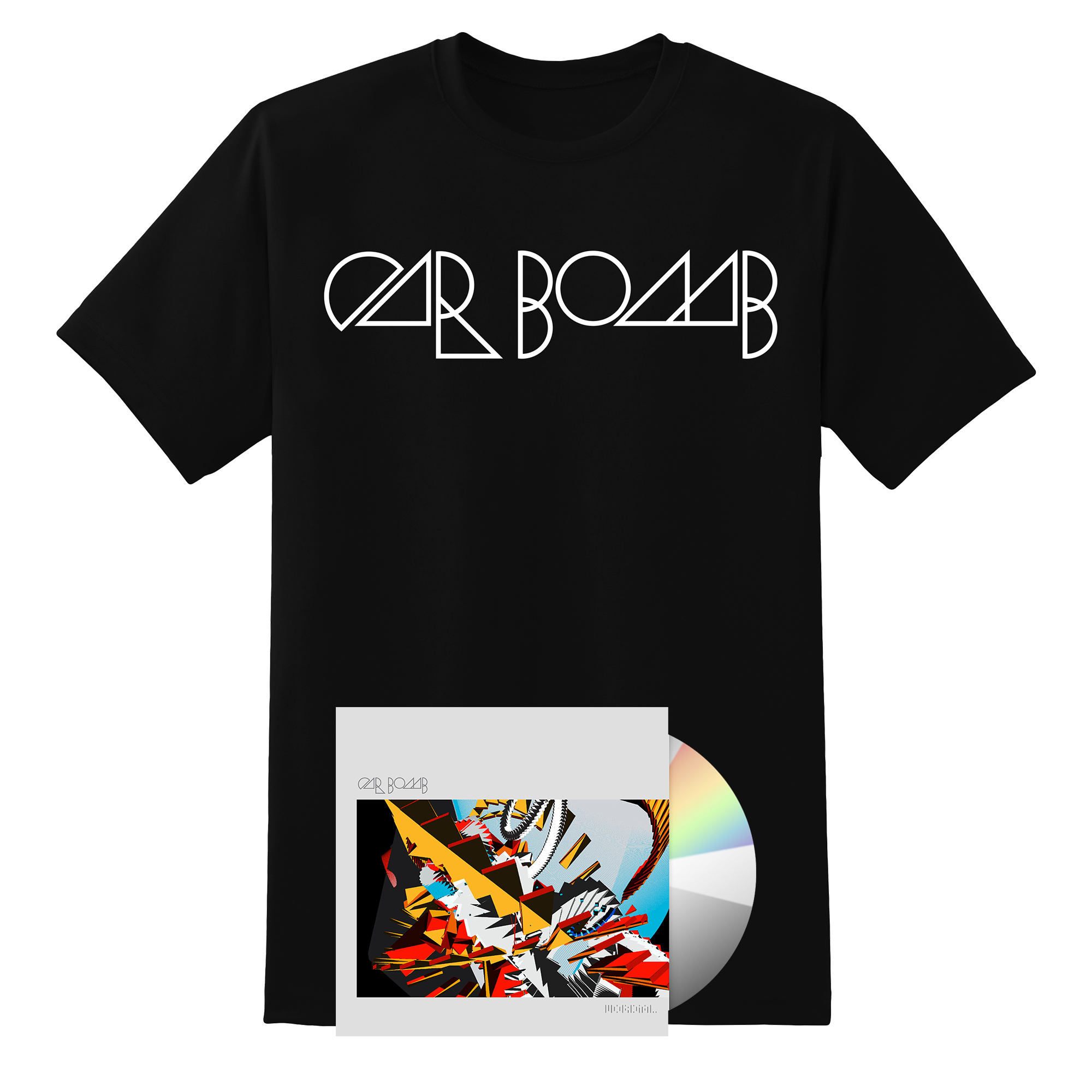 Car Bomb logo shirt + CD