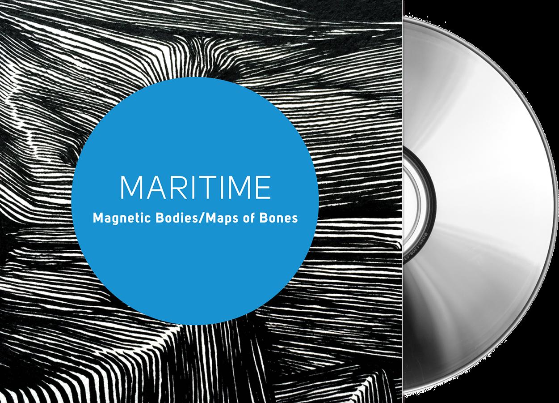 Maritime - Magnetic Bodies/Maps of Bones - CD