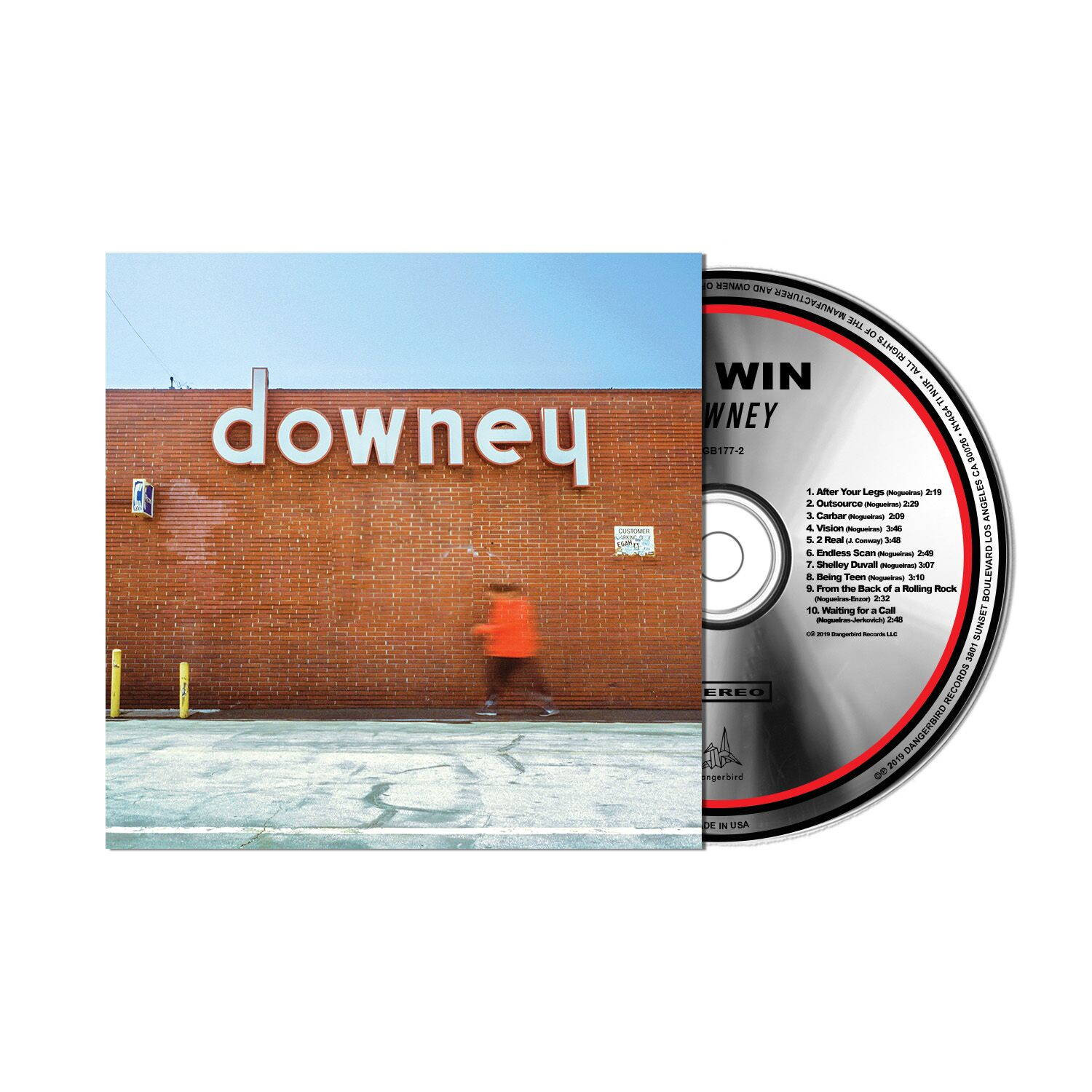 NO WIN - downey  - CD