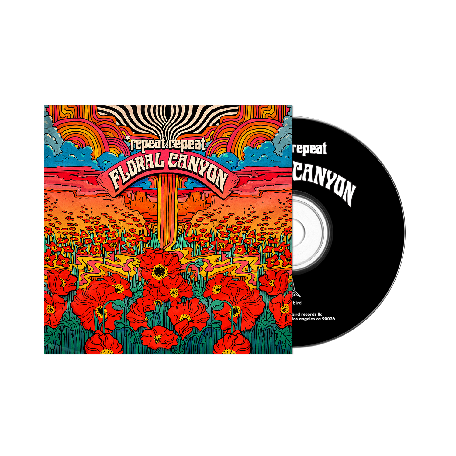 *Repeat Repeat - Floral Canyon  - CD
