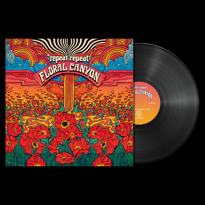 *repeat repeat - Floral Canyon - Black Vinyl LP