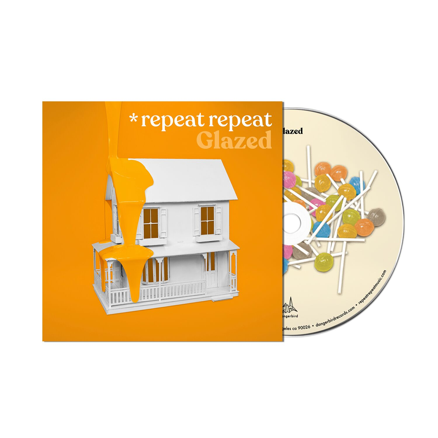 *repeat repeat - Glazed  - CD