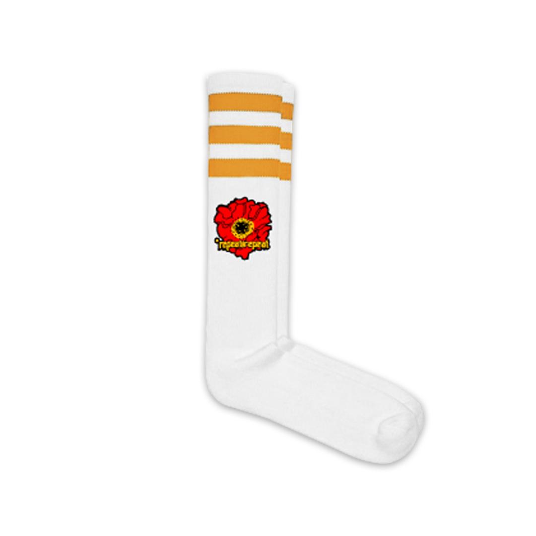 *Repeat Repeat - Poppy - Knee High Tube Socks