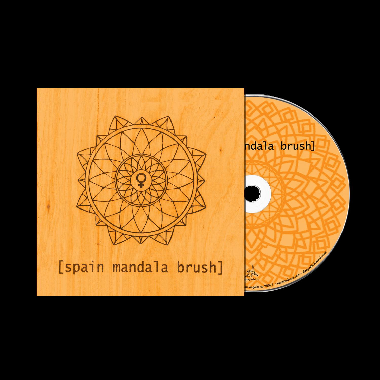 Spain - Mandala Brush - CD