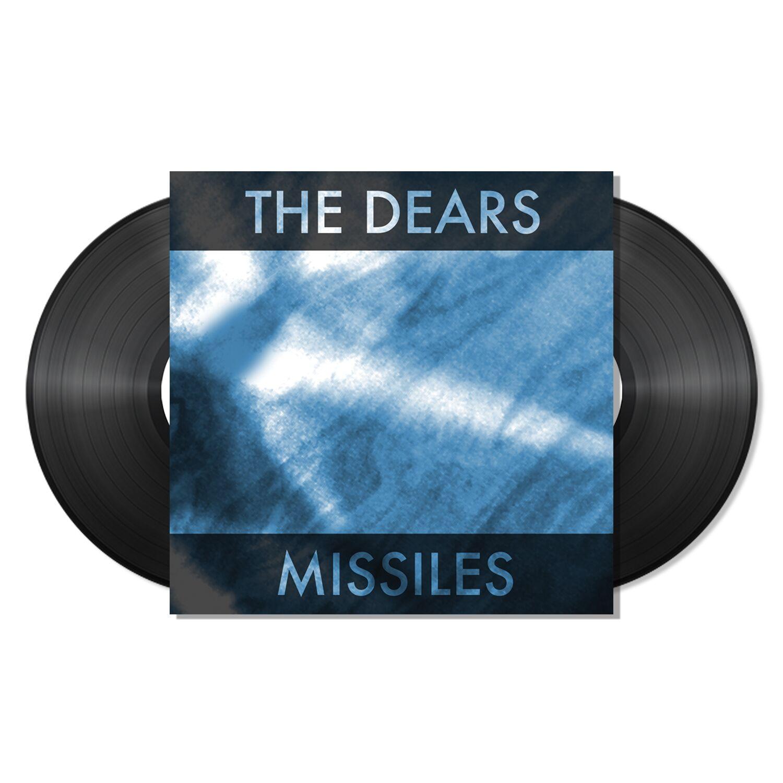 The Dears - Missiles - Black Vinyl LP