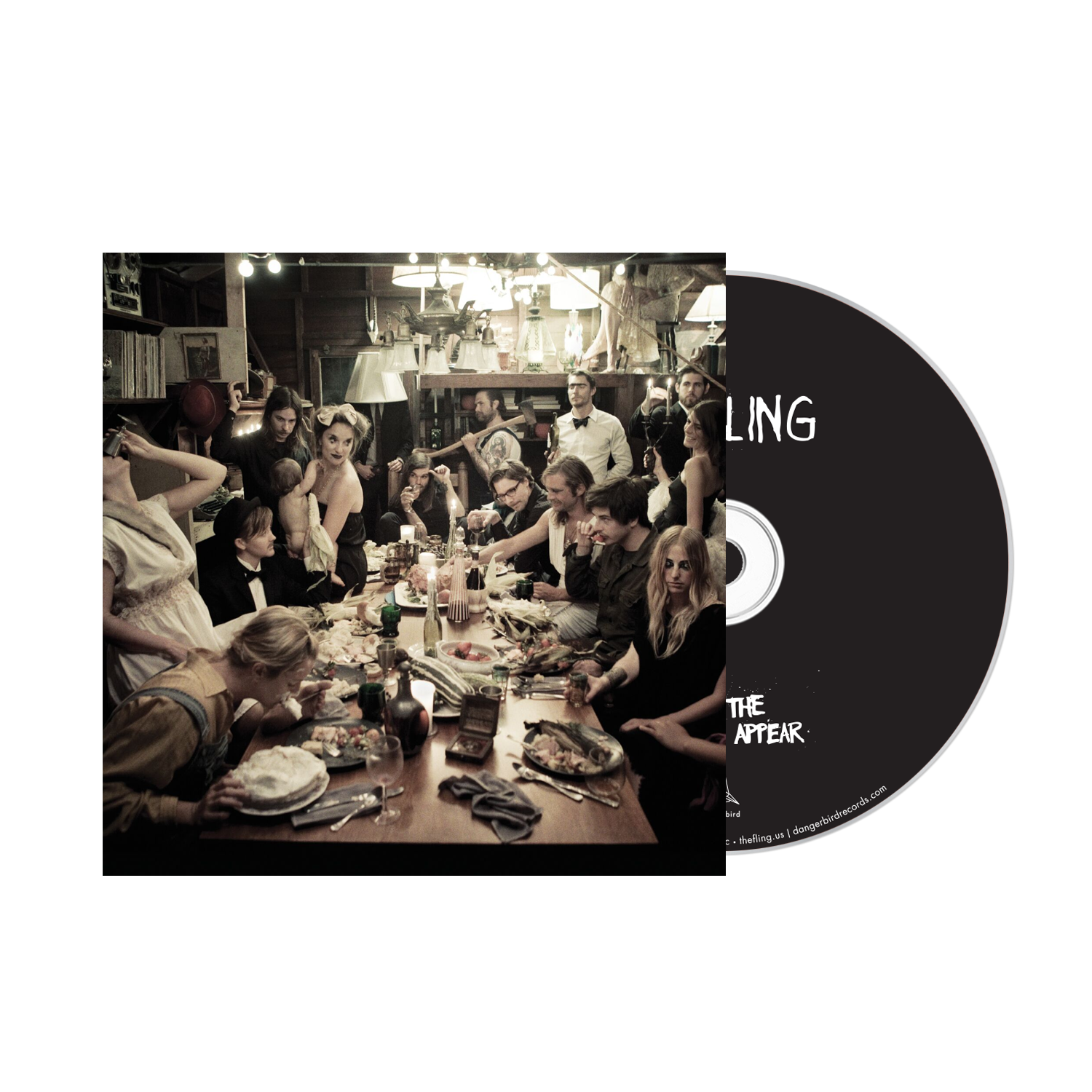 The Fling - When The Madhouses Appear - CD