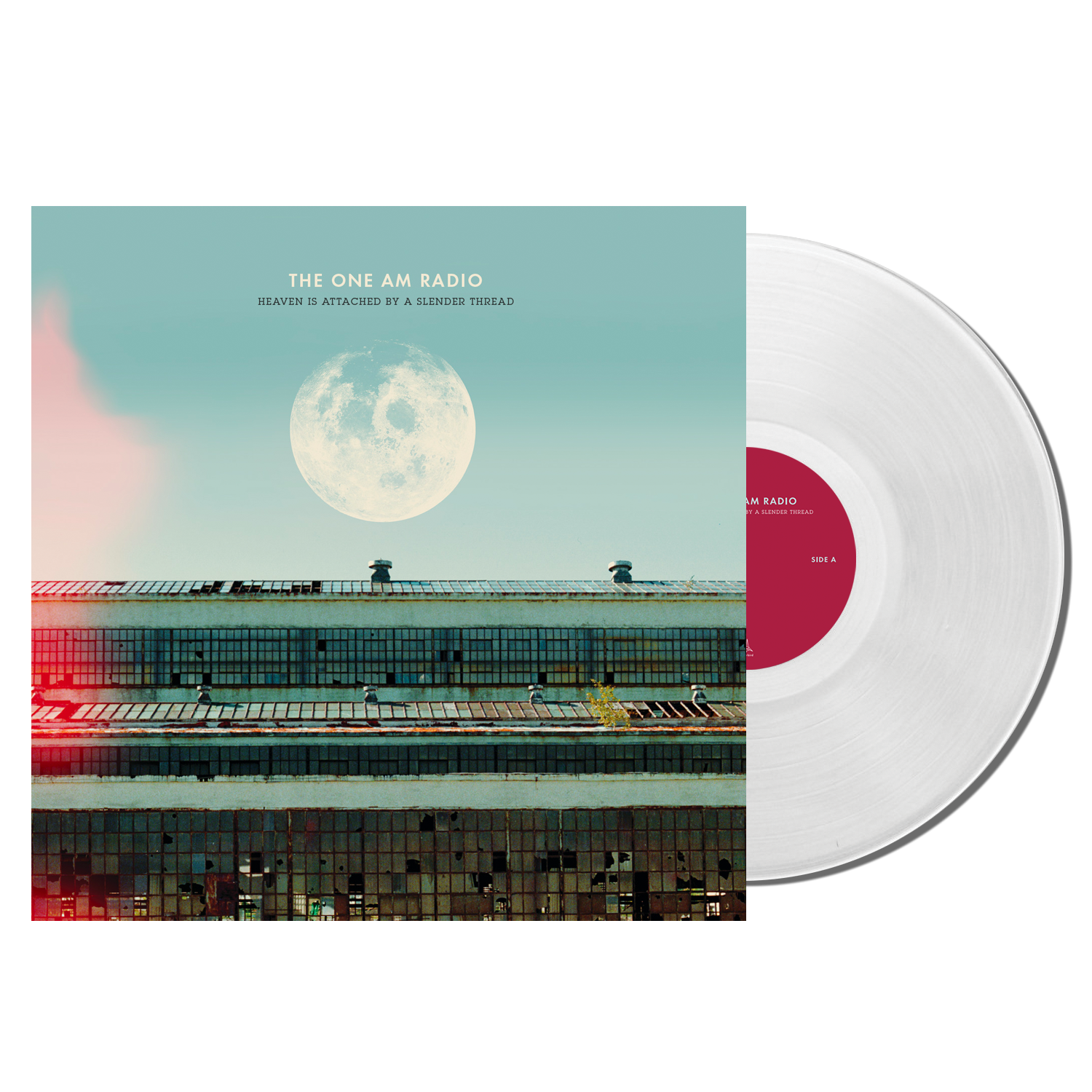 The One AM Radio - Heaven is Attached by a Slender Thread - Clear LP