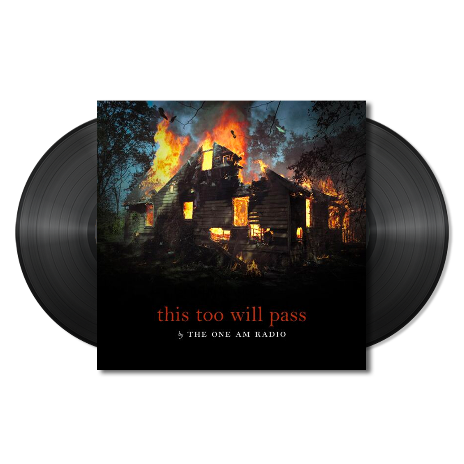 The One AM Radio - This Too Will Pass - 2 x Black LP
