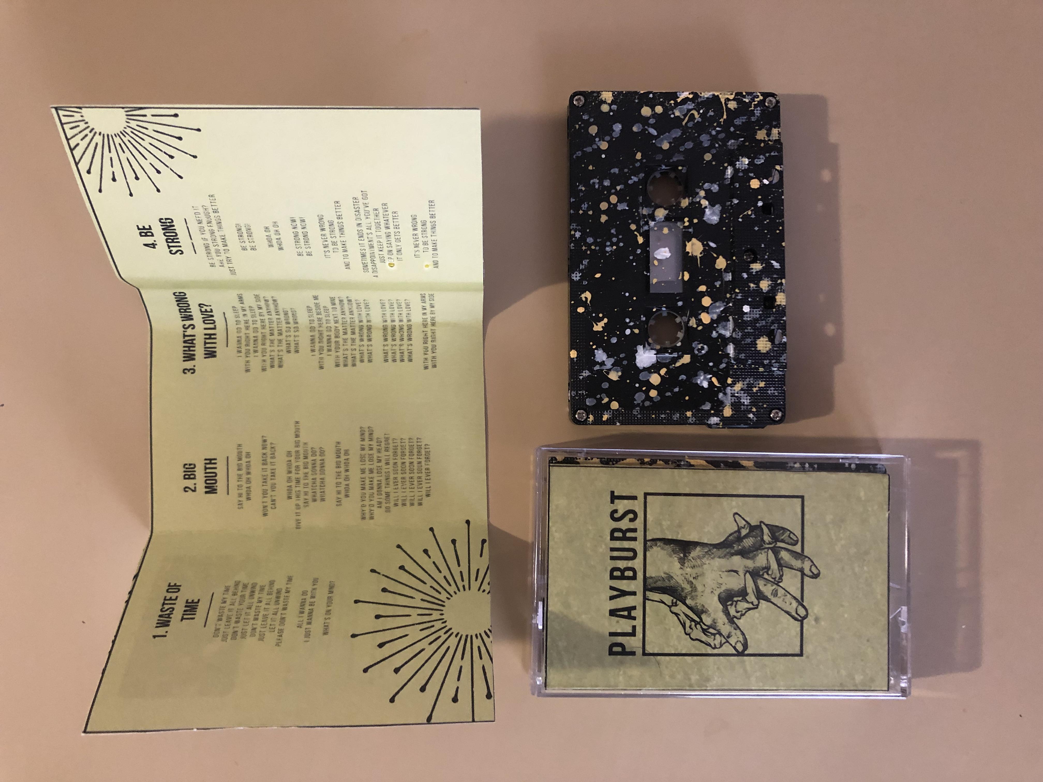 PLAYBURST - S/T - Tape