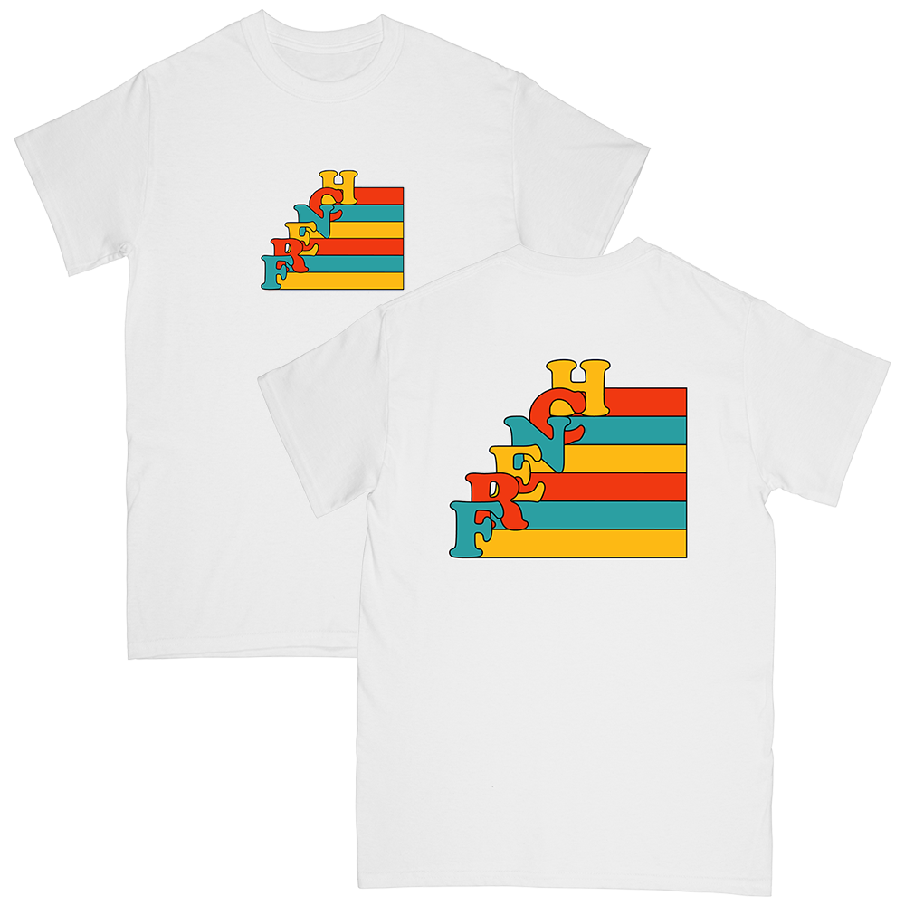 """FRENCH"" stairs tee"