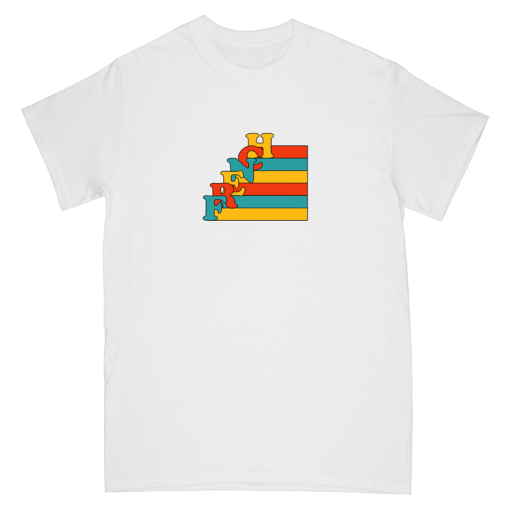 """""""FRENCH"""" stairs tee"""