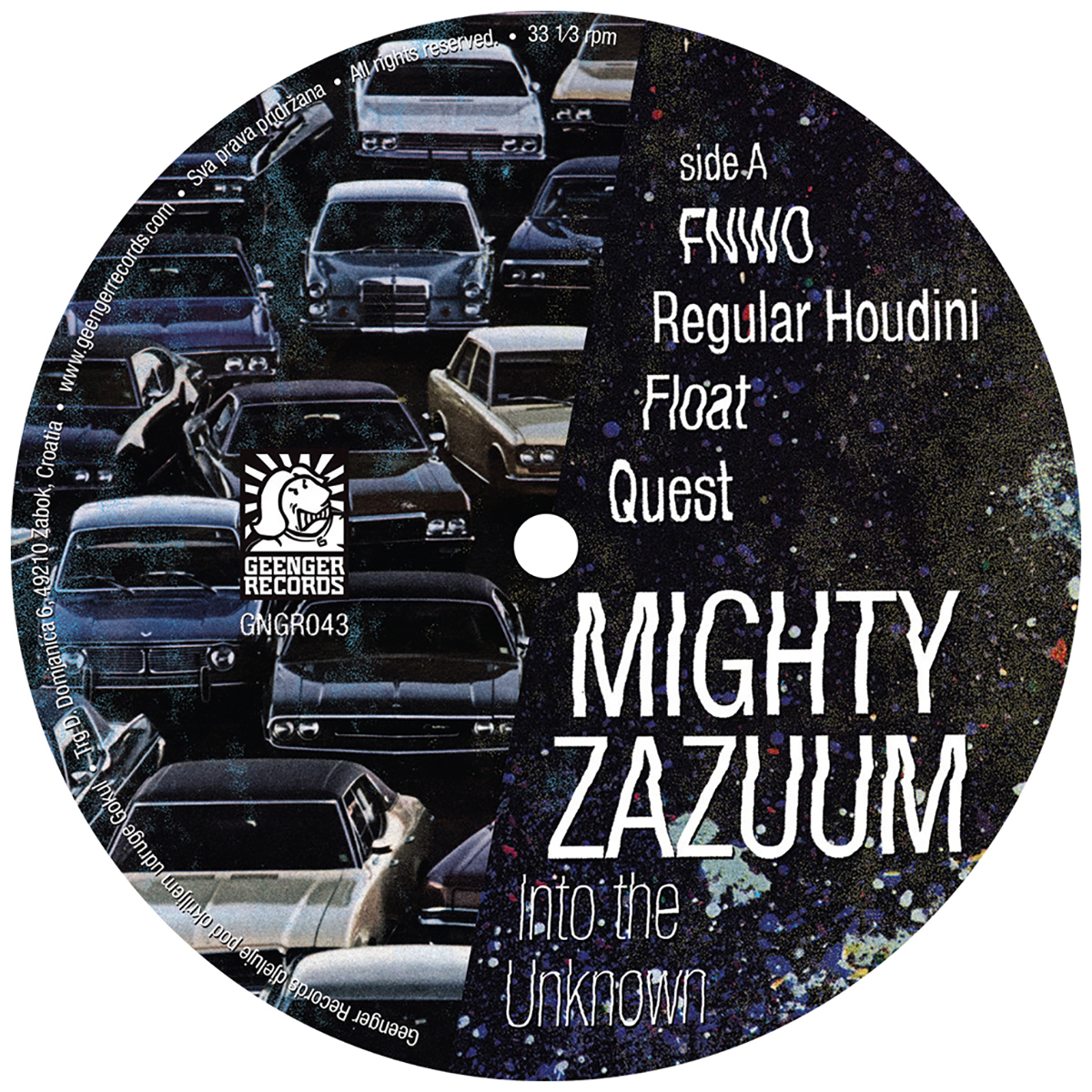 MIGHTY ZAZUUM - Into the Unknown