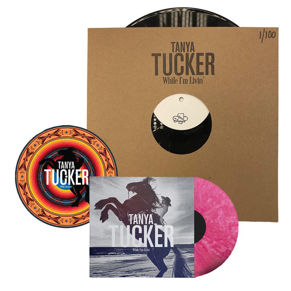 """Signed LP Test Pressing + """"Bubblegum"""" Color Vinyl LP + Turntable Mat Bundle (100 available)"""