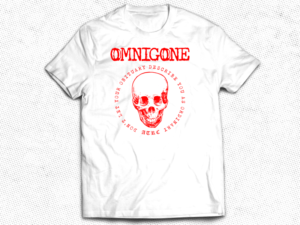 Omnigone Pre-Order Combo (Vinyl + Shirt + Sticker)