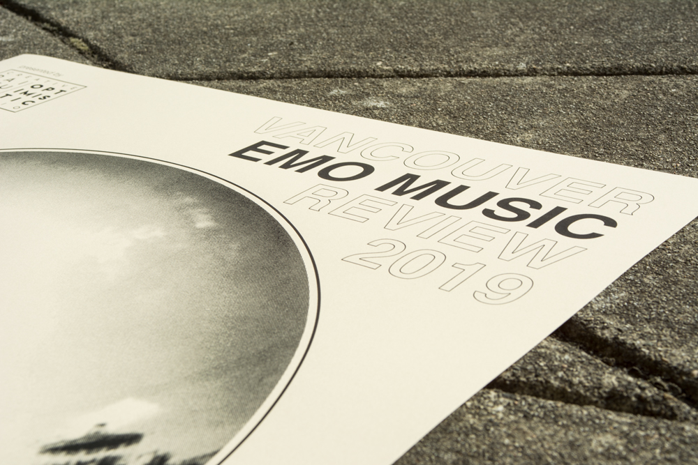 Vancouver Emo Music Review 2019 poster