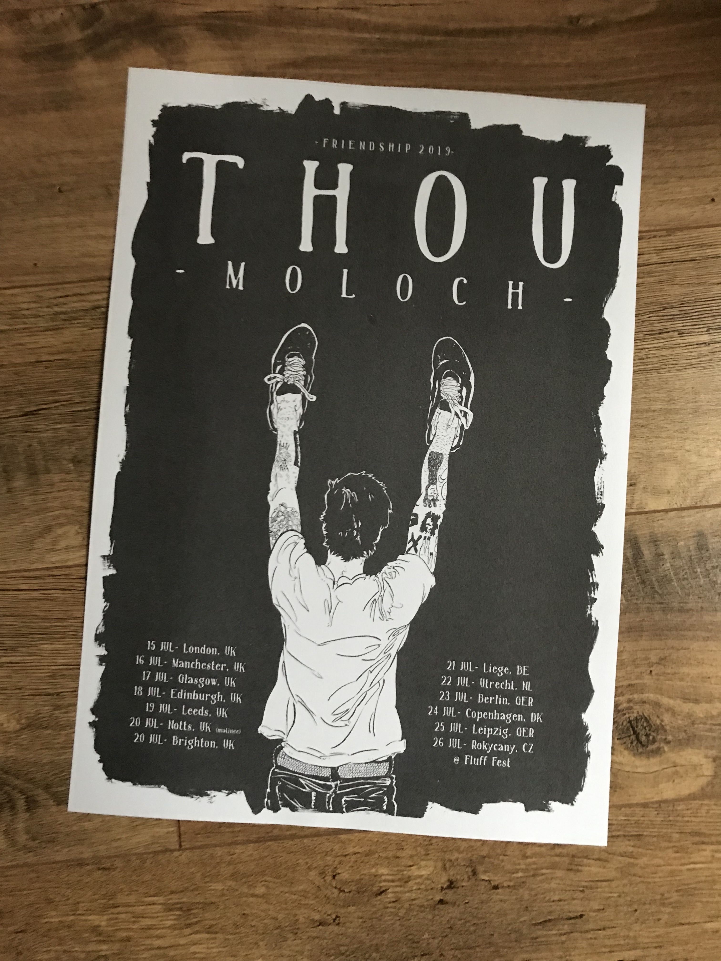 THOU / MOLOCH TOUR POSTER