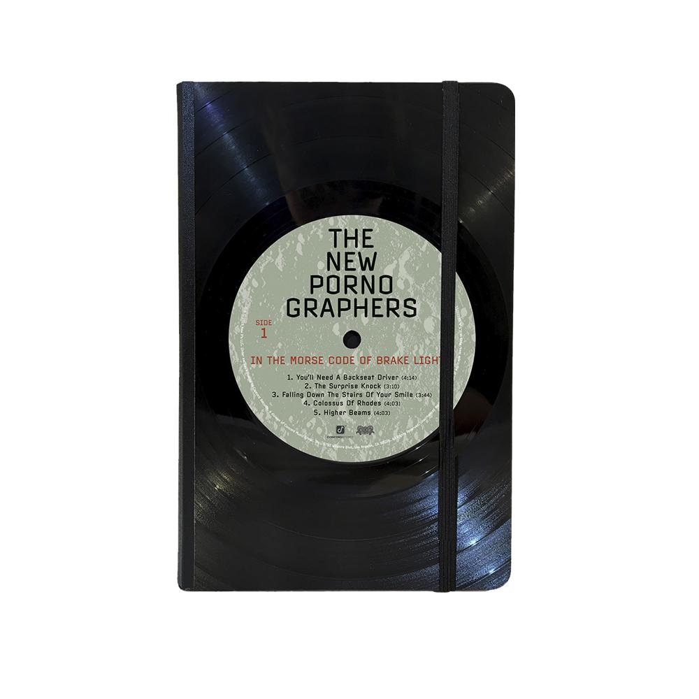 """Vinyl Notebook (6""""x8"""") + Vinyl/CD/Download (Optional)"""