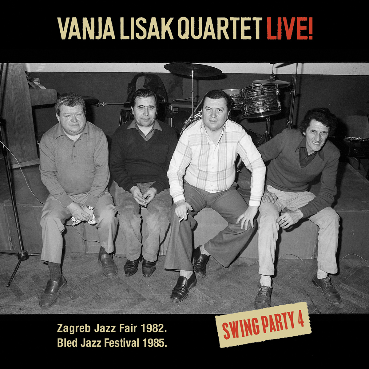 VANJA LISAK QUARTET - Live! (Swing Party 4)
