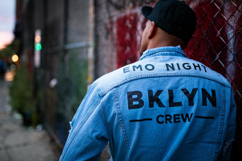 Emo Night BKYLN Crew Denim Jacket
