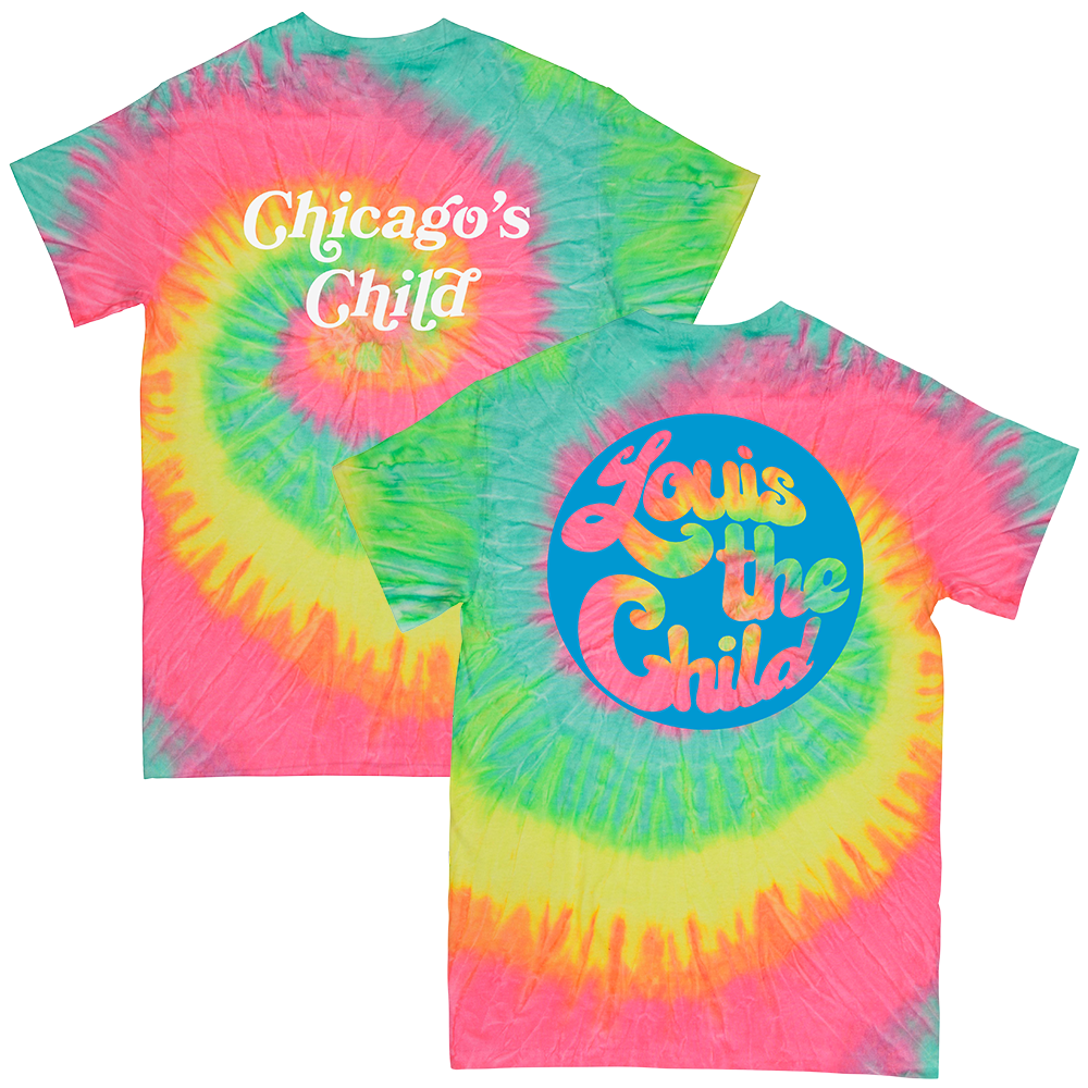 Chicago's Child Tee - Tye Dye