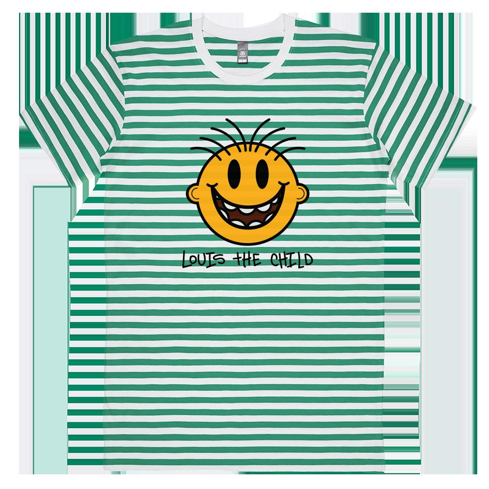 Happy Striped Tee - Green