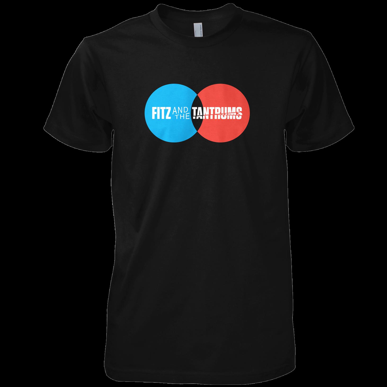 Fitz & The Tantrums - Circle Logo Black T-Shirt