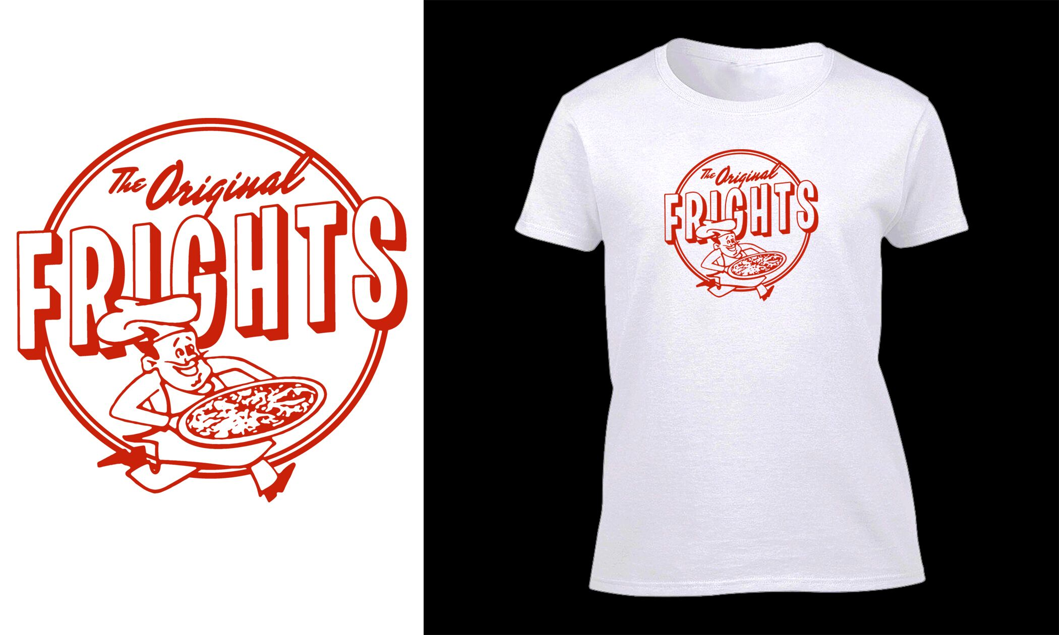 The Frights - The Original Frights White Girls T-Shirt