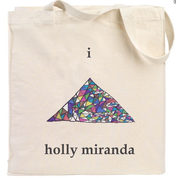 Holly Miranda - Triangle - Natural Tote Bag