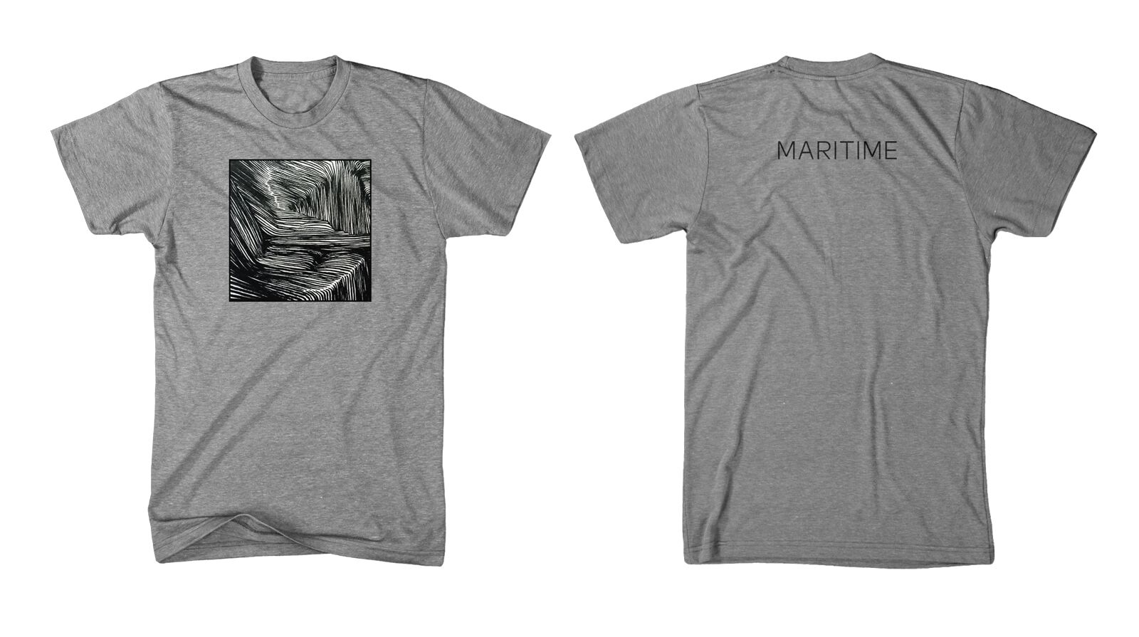 Maritime - Album - Heather Grey T-Shirt