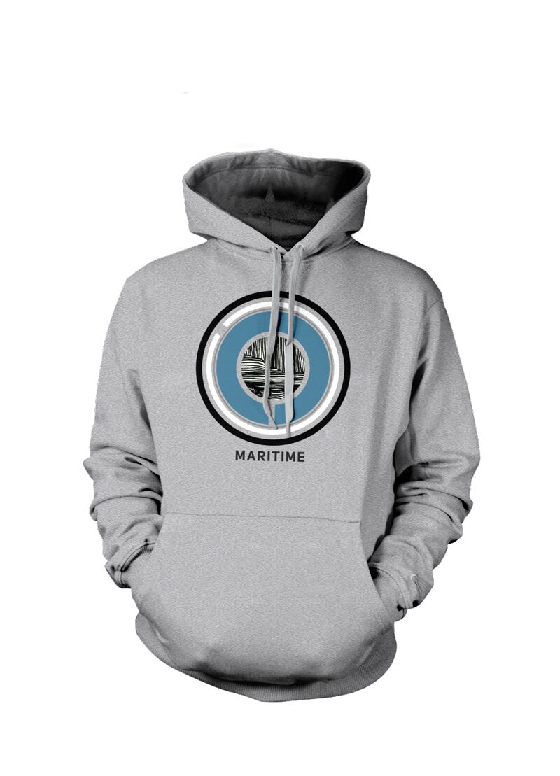 Maritime - Rounder - Heather Grey Pullover Hoodie