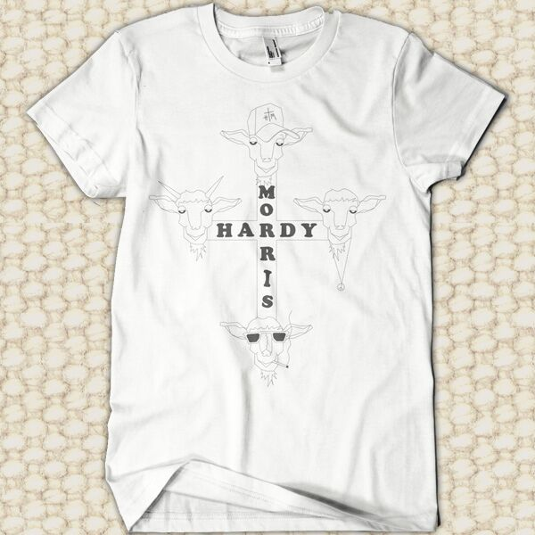 T. Hardy Morris - Goat - White T-Shirt