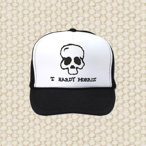 T. Hardy Morris - Skull - Black/White Trucker Hat