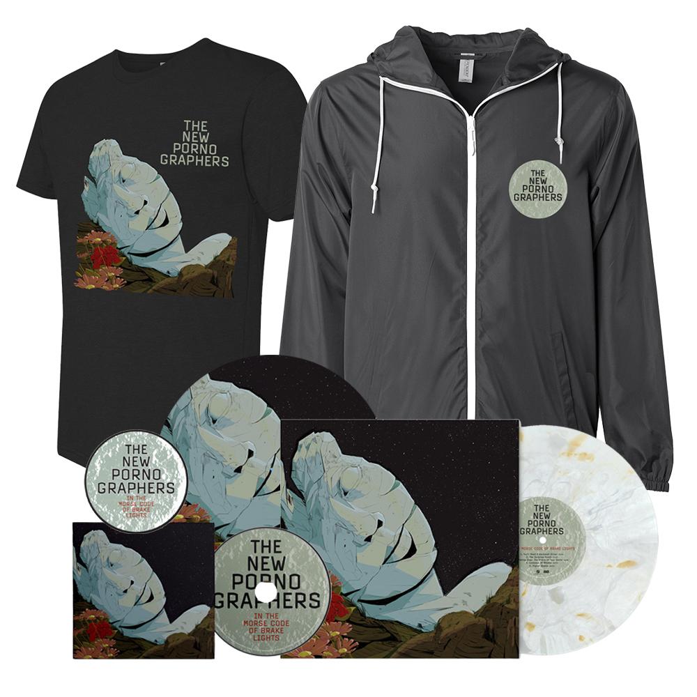 Signed CD or Signed Clear Marble Vinyl LP Merch Superb Bundle