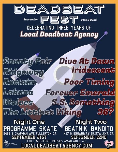 Deadbeat Fest Passes