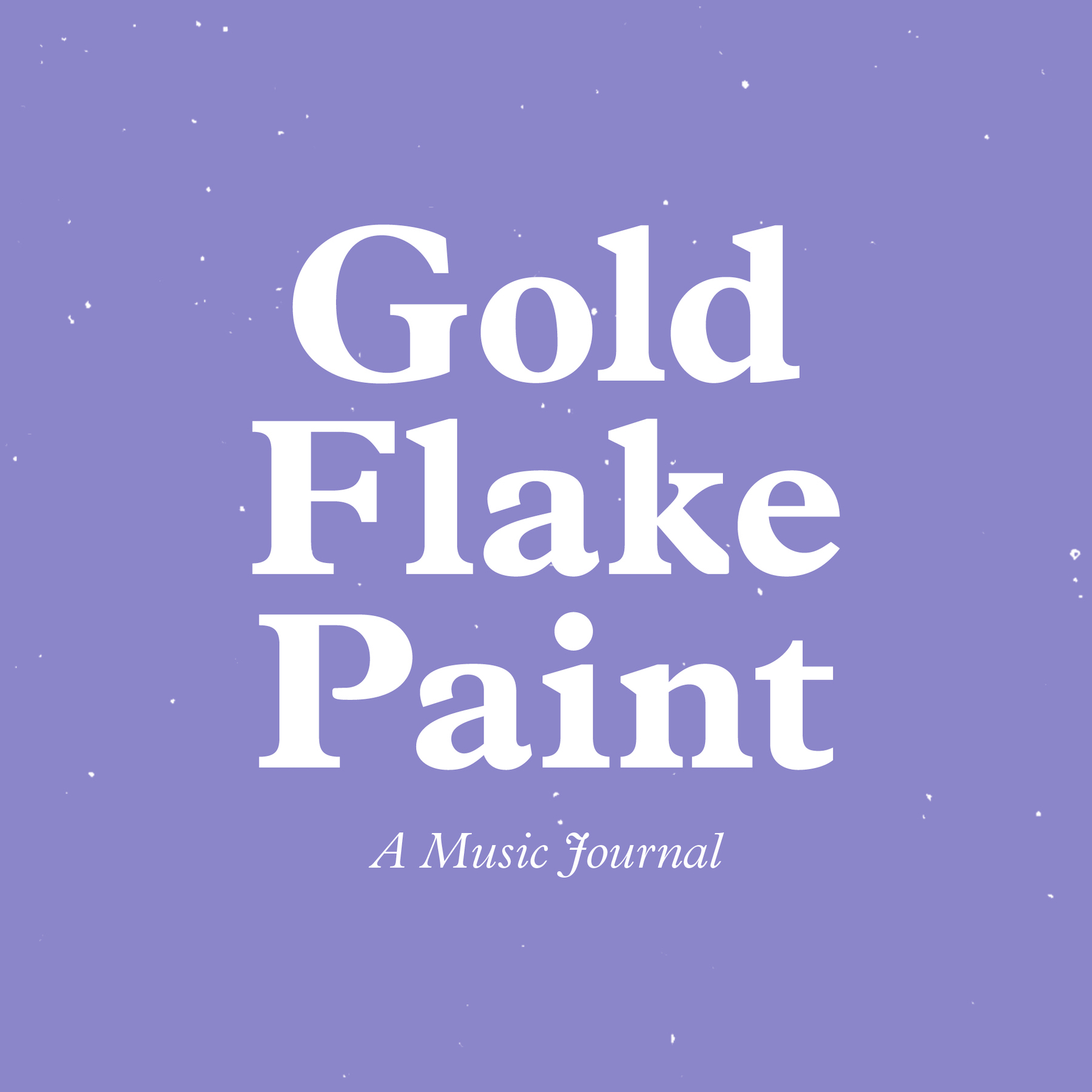 Gold Flake Paint