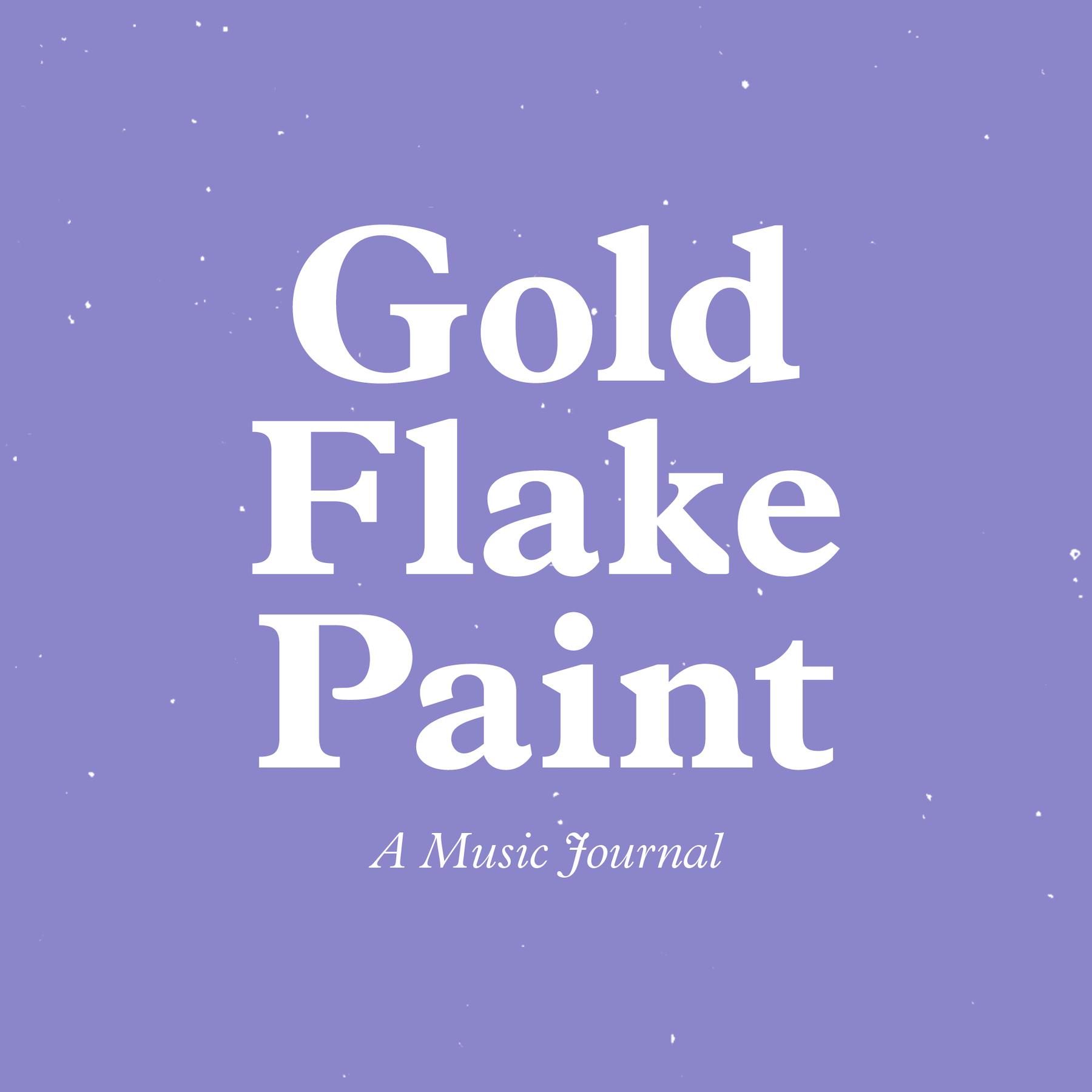 Gold Flake Paint