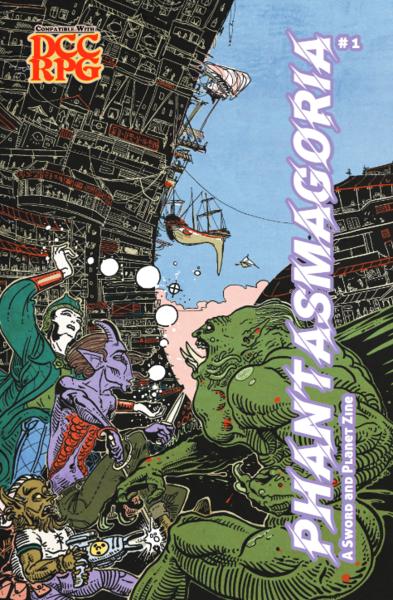 Phantasmagoria #1 (Luka Rejec Cover)